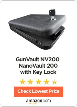 GunVault NV200 NanoVault 200 with Key Lock