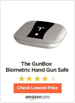 The GunBox Biometric Hand Gun Safe