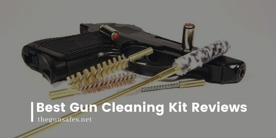 Gun with cleaning tools