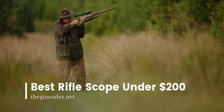 older man shooting his rifle
