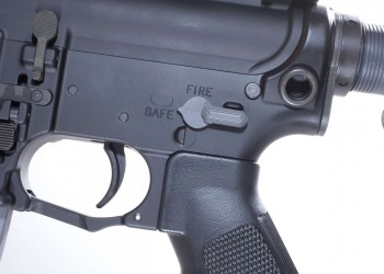 AR-15 fire controls and lower receiver