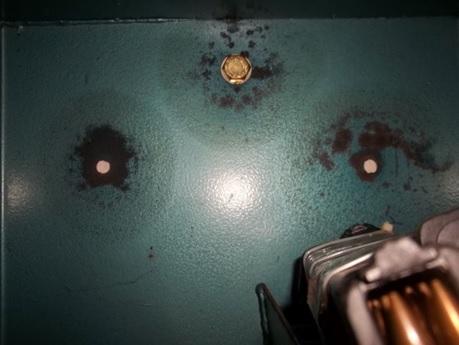 Bolts inside the safe