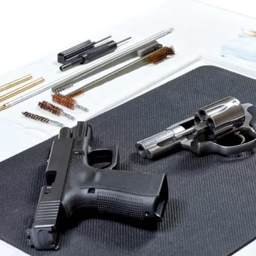 Cleaning a Handgun